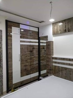Interior designer in Mumbaiinterior design for flat in Thane Washroom Design, Pooja Room Door Design, Bedroom Door Design, Bedroom Furniture Design, Modern Bedroom Design, Wardrobe Interior Design, Wardrobe Door Designs, Wardrobe Design Bedroom, Wardrobe Doors
