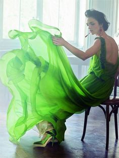 Vert magnifique