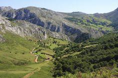 Beautiful landscape along the Camino Primitivo (Original Way)
