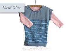 Eines unserer Lieblingsstücke ist definitiv das Kleid Gitte & in Kombination mit einem Lonshirt perfekt für herbstliche Tage!  >> de.dawanda.com/shop/mypunctum >> etsy.com/de/shop/mypunctum  Keinen Login für Dawanda oder Etsy? Kein Problem: >> Schick eine Email an office@mypunctum.com Shops, Baby Kind, Office, Etsy, Shopping, Little Princess, Chic, Kleding, Tents