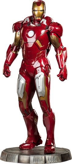 The Avengers - Iron Man Mark VII (7) Legendary 1/2 Scale Statue