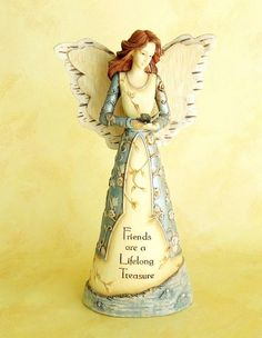 Angel - Friend / Figurine    Get it now for $21.99    Friends are a Lifelong Treasure