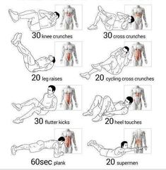 Try total abs workout better in our apps. Total Abs, Fitness Workouts, Abs Workout Routines, At Home Workouts, Workout Abs, Ab Workouts, 5 Minute Abs Workout, Total Ab Workout, Heel Touches