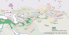 Migration of Turkic people
