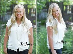 Studio 5 - Yes, You Are Photogenic - No the Camera Does Not add 10lbs - It really doesn't! It is all in how you stand! It starts with the shoulders. Think about it, they are probably the widest part of your body. When you stand square to the camera, it makes you look wide! Instantly lose 10lbs by just turning your shoulders to a 45 degree angle to the camera (slightly to the side).
