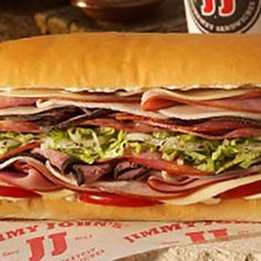 Worst Options at 20 Popular Fast Food Chains Nutrition Guide, Nutrition Information, Nutrition Store, Nutrition Education, Jimmy John Menu, Jimmy Johns, Gourmet Sandwiches, Fast Food Chains, Nutritional Supplements