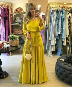 Best 12 Long Prom Dresses, Beautiful Evening Party Dresses on Luulla Trendy Dresses, Casual Dresses, Fashion Dresses, Summer Dresses, Party Dresses, Dress Party, Jeans Fashion, Yellow Evening Dresses, Summer Maxi