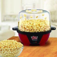 Electric Popcorn Popper Corn Maker Machine Nonstick Home Kitchen Countertop Red #SmallKitchenAppliances