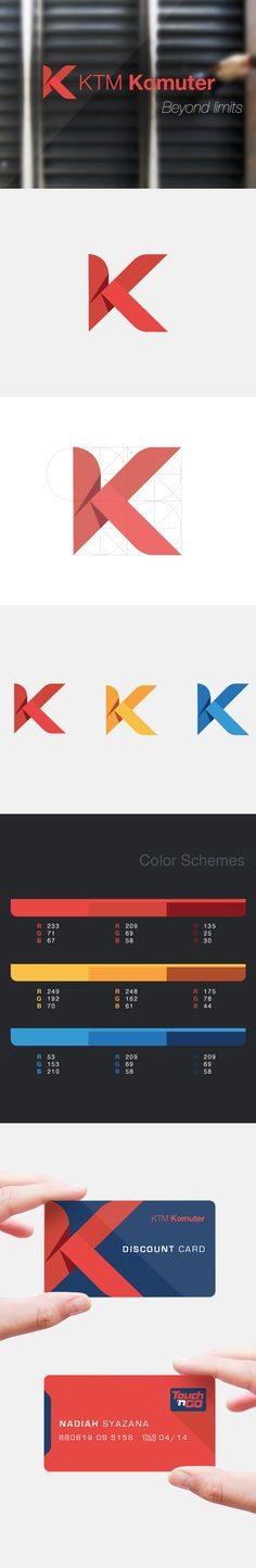 KTM Komuter Re-branding on Behance