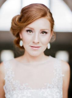 Natural, Glowing Makeup for Your Wedding. #weddings #makeup #natural #glowing