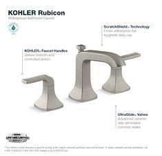 Bathroom Faucet Sprayer kohler rubicon 1-handle 3-spray wall-mount tub and shower faucet