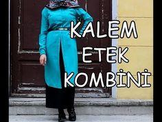 |KALEM ETEK KOMBİNİ | Bugün ne giydim? |Pencil Skirt Combination|LOOKBOOK ||Rabia'nın Tasarımları - YouTube