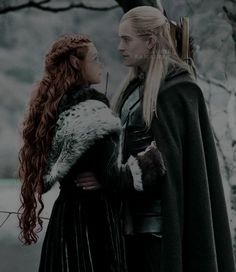 Legolas And Tauriel, Fili And Kili, Thranduil, Tolkien, Lotr Characters, Middle Earth, Lord Of The Rings, The Hobbit, Elves