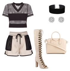 """""""💗"""" by nia-koycheva ❤ liked on Polyvore featuring Kendall + Kylie, Miss Selfridge and Givenchy"""