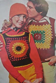 20 Hot Examples of 1970s Crochet Style from McCalls