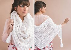 The Crochet Le Nuage Wrap is like snuggling up in a big yarn cloud that you never want to leave! It's a beginner friendly project, with simple stitches and an easy repeating pattern. The perfect thing to make while watching TV (which is what we are all looking for in a crochet pattern, right?) MYRead More