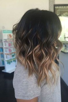 Ombre, Medium Hairstyle