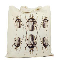 B+F / Gilded Tote / Beetles Beetles, Totes, Christmas, Xmas, Bags, Navidad, Noel, Natal, Big Bags