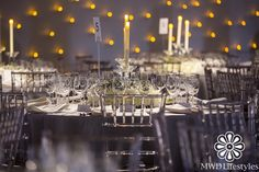 Table Setting | Hirshhorn 40th Annual Gala | New York | MWD Lifestyles