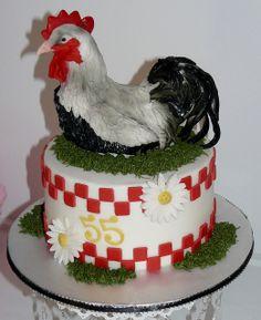 Rooster by Karen's kakes, via Flickr
