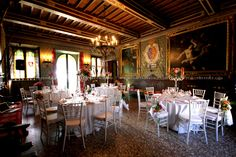gorgeous #castle in #tuscany to rent for your #wedding in #italy www.italyprestige.com #orange and #green