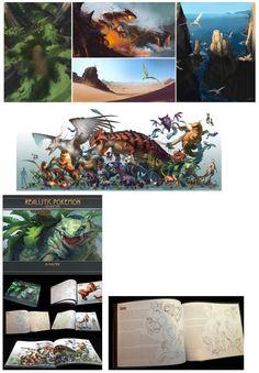 Realistic pokemon speedpaints, season 1 group and book example ...  From arvalis ...  dragonite (in the swamp), deerling, groudon, flygon (in the desert), aerodactyl (aerodactyl rock), venusaur, arcanine, growlithe, mew, mewtwo, umbreon, jolteon, vaporeon, eevee, flareon, espeon, glaceon, leafeon, pokemon, bulbasaur, venusaur, ivysaur, charizard, charmeleon, charmander, squirtle, blastoise, zubat, nidoran, nidorino, dratini, dragonair, scyther, garchomp, gengar, nidoking, gastly, zoroark
