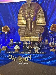 Egyptian theme Baby Shower Party Ideas | Photo 3 of 9