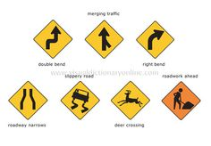 Road signs 1