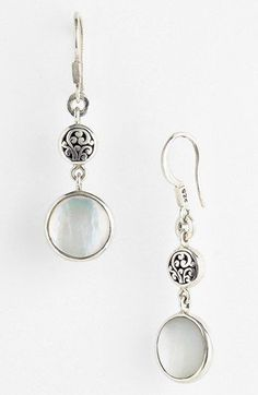Lois Hill Mother-of-Pearl Drop Earrings available at #Nordstrom