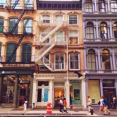 New York City Feelings - SoHo by victoriasavan