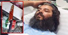 Muslim Terrorist Stabs Badass Man In Neck, Instantly Regrets His Decision