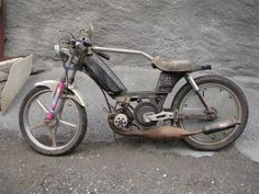 mob peugeot 103 (clip? racing?) customized