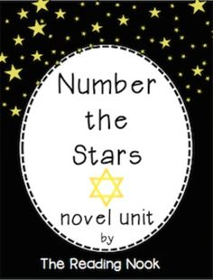 A novel unit for 4-8th grades-lots of wonderful activities!