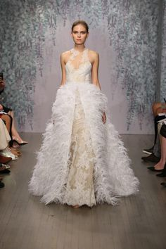 Monique Lhuillier Bridal Fall 2016. See every wedding gown on Vogue.com