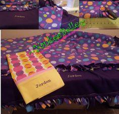 Fleece Blanket & Pillowcase