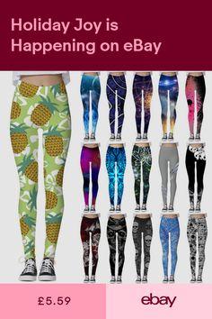 7e731e4fa Graphic 3D Printed Women Skinny Stretchy Pencil Pants Yoga Gym Leggings  Trousers