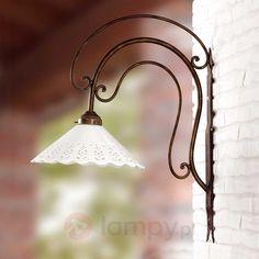Duża lampa ścienna I PORTICI 30 cm 2013029