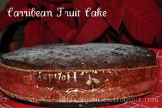 Tickle My Senses: Caribbean Fruit Cake for Christmas! Vegan Fruit Cake, Rum Fruit Cake, Chocolate Fruit Cake, Fresh Fruit Cake, Fruit Cakes, Fruit Birthday Cake, Fruit Wedding Cake, Fruit Cake Design, Easy Cake Decorating