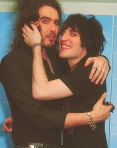 Russell Brand and Noel Fielding