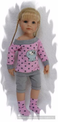 Мои пошивушки для Ханны / Одежда и обувь для кукол - своими руками / Бэйбики. Куклы фото. Одежда для кукол