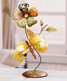 Look what I found on #zulily! Dragonfly Capiz Shell Tealight Holder #zulilyfinds