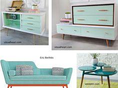 Muebles de inspiración retro