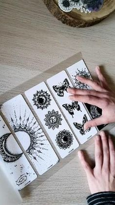 Mandala Art Lesson, Mandala Drawing, Breastfeeding Tattoo, Mandela Art, Watercolor Mandala, Cute Doodle Art, Hand Lettering Art, Diy Bookmarks, Spring Crafts For Kids