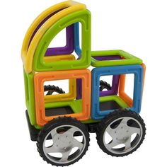 Magformers - Vehicle Wow Set - Multi Colored, 63213