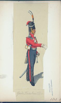 Guard Cossack (NYPL > The Vinkhuijzen collection of military uniforms > Russia. > Russia, 1816)