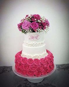 Gorgeous Cakes, Pretty Cakes, Amazing Cakes, Unique Cakes, Elegant Cakes, Pumpkin Wedding, Pink Pumpkins, Fancy Desserts, Sweet 15