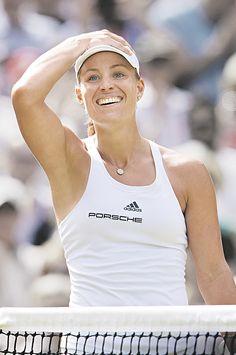 Angelique Kerber at The Championships, Wimbledon.