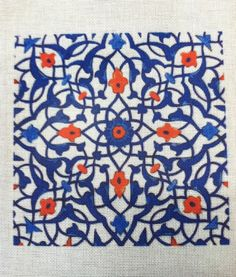 Beautiful Needlepoint patterns can be created from ancient Iznik tiles!  More great Iznik tile designs are on our blog http://designneedlepointkits.com/2012/05/30/fun-needlepoint-patterns-iznik/