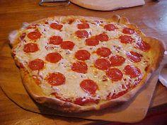 Rosy Creations: Italian food- homemade pizza