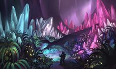 Crystal Forest by LongJh.deviantart.com on @deviantART